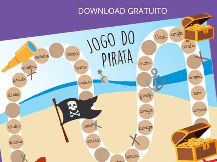 Jogo do Pirata: trabalhando o r