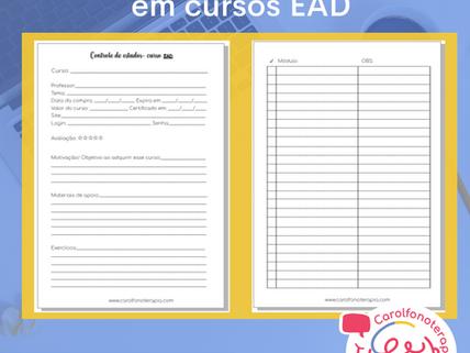 Planejamento para aproveitar seu curso EAD