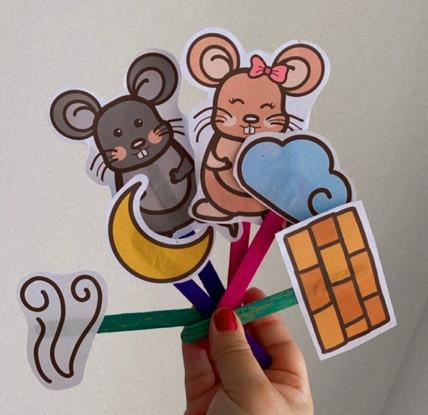Estimulando com a música do rato