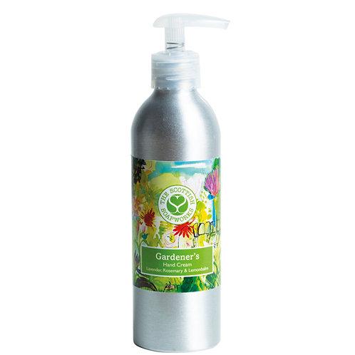 GA001 Gardener's Hand Cream 200ml - Rosemary, Lavender and Lemonbalm