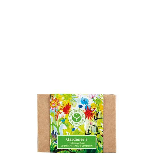 GA002 Gardener's Cold Process Soap 140g - Rosemary, Lavender and Lemonbalm
