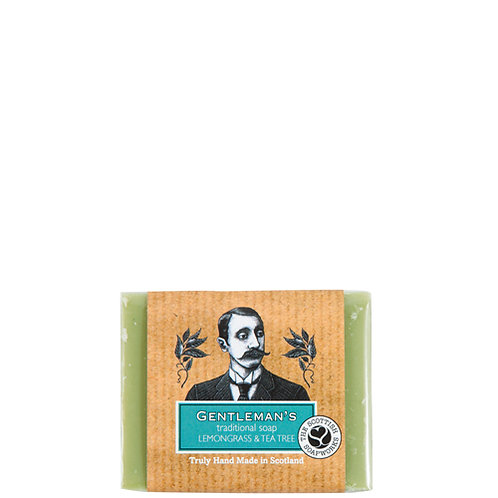 ME003 Gentleman's Lemongrass & Tea Tree Cold process Soap 140g