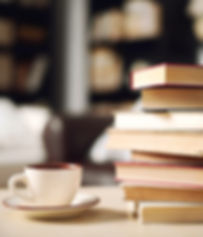 Pile Of Books and coffee