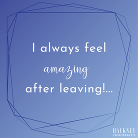 I always feel amazing after leaving! My daughter even was constantly complaining about her tummy hurting and has never again after we started! Me and both my kids go once a month now. Worth every penny! & I love that they don't crack you like some chiros do.   - Mikayla M.