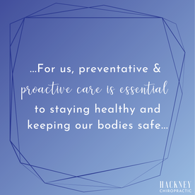 My chiropractor journey began in my first trimester, when I was in so much (SI joint) pain I wasn't able to walk. After a few visits, I was walking and pain-free! I continued with routine adjustments throughout my pregnancy to counteract all the moving bits & pieces. Two and a half years later, and my daughter and I thoroughly enjoy our monthly adjustments! For us, preventative & proactive care is essential to staying healthy and keeping our bodies safe. We have so much gratitude for the Hackney's, and their team!  -Jackie B.