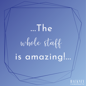 We moved to Oklahoma about a year ago and finding a good chiropractor was at the top of our list. Hackney has been that place for us. My son loves going there. The whole staff is amazing!   - Rebecca O.