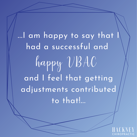 I started seeing Dr. Josiah and Dr. Daniel during my second pregnancy. I had a C-Section with my son and I was determined to do everything in my power to have a successful VBAC with my daughter. I did not receive chiropractic care with my first pregnancy and boy do I wish I had! I can tell that it made a difference and adjustments always helped me feel better. I am happy to say that I had a successful and happy VBAC and I feel that getting adjustments contributed to that! I continue to receive care postpartum, as is my daughter. She is nursing better since getting adjustments! Great experience all the way around. Oh and I didn't mention that they are super sweet with excellent patient care!   - Morgan L.