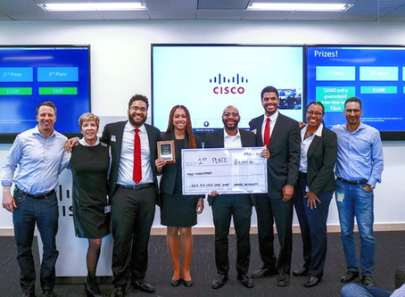 Supply Chain Wins Cisco Case Competition