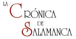 Información de la Crónica de Salamanca