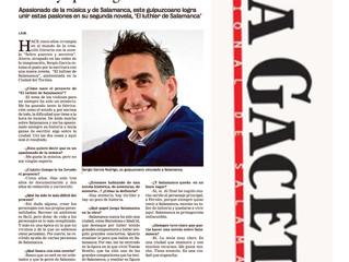 Entrevista La Gaceta de Salamanca
