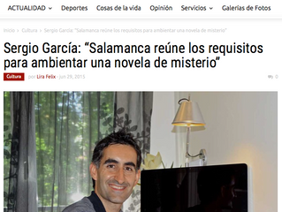 Entrevista para La Crónica de Salamanca