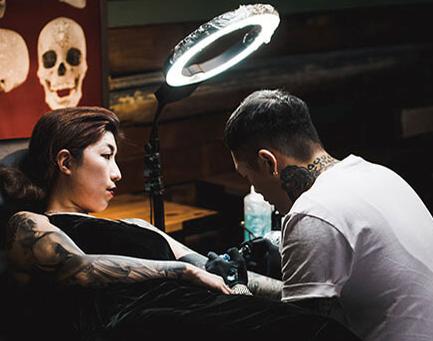 參展紋身藝術家-Josh