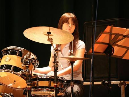 爵士鼓組講師|吳純瑩