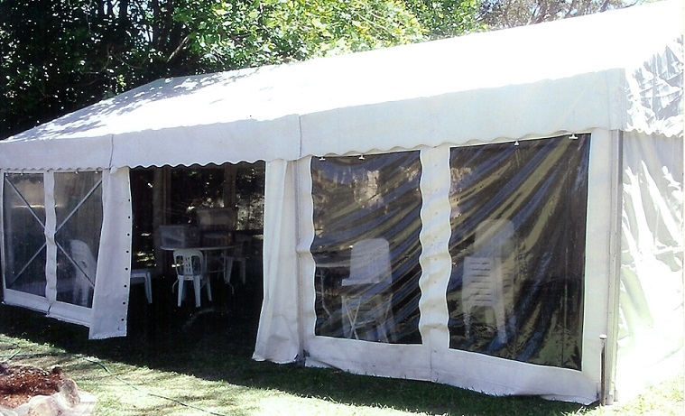 6 x 9m free standing structure.1