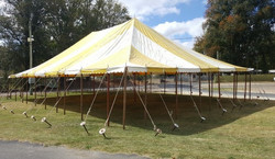 Rope and Poll Marquee