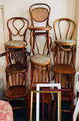 Vintage Timber Chairs Mismatched.jpg