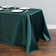 Teal satin trestle cloth.jpg