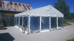 6 x 6m free standing structure.3