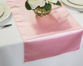 Baby pink satin table runners.jpg