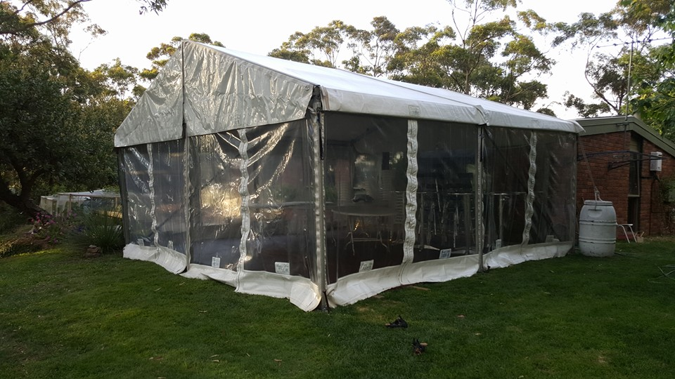 6 x 6m free standing structure.2