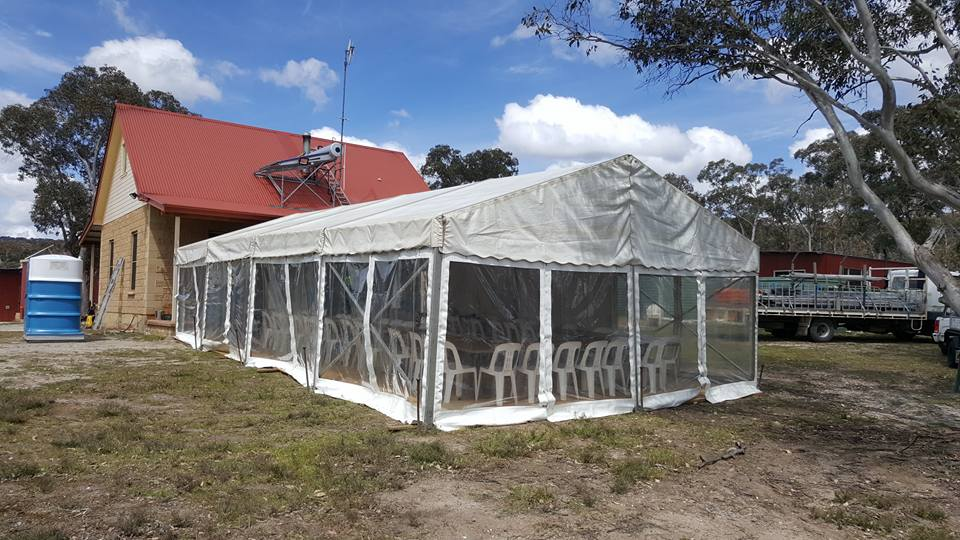 6 x 12m free standing structure.2