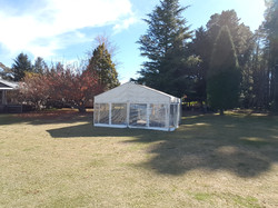 6 x 6m free standing structure.9