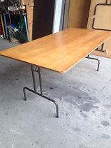 1.8m x 90cm wooden table.jpg