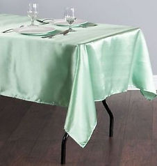 Mint green satin trestle.jpg