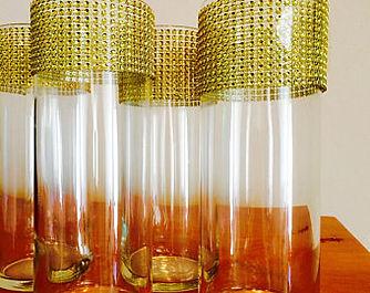 Gold mesh cylinder vases.1.jpg