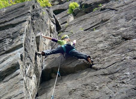 Klettergatren Ötz - sportovky na kraji údolí