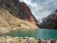 Balshoe Allo in Fann Mountains in Tajkistan