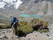 Duschacha Lake in Fann Mountains in Tajkistan