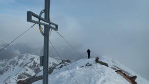"""Kesselspitze na skialpech, aneb """"Když tam jeli místňáci..."""""""