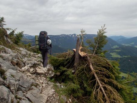 Gosaukamm - překážková dráha kolem hřebene