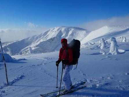 Mražený krkonošský skitouring