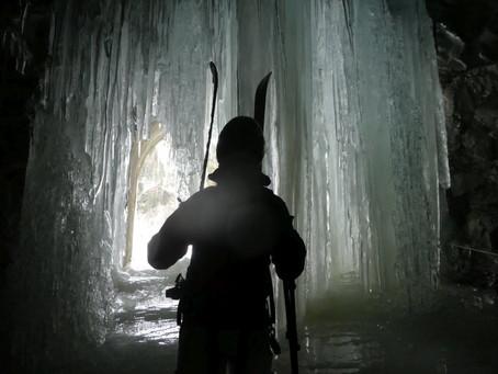 RötenKarl, neznámý kopeček na skialpech
