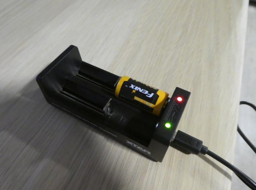 USB nabíječka Li-Ion AKU