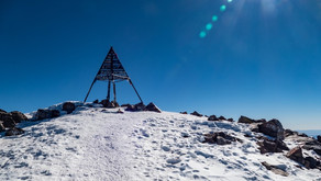 Jebel Toubkal v prosinci