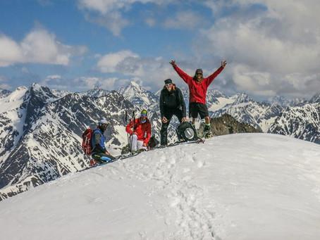 Rostizkogel a K2, skialpy v Ötztálských Alpách