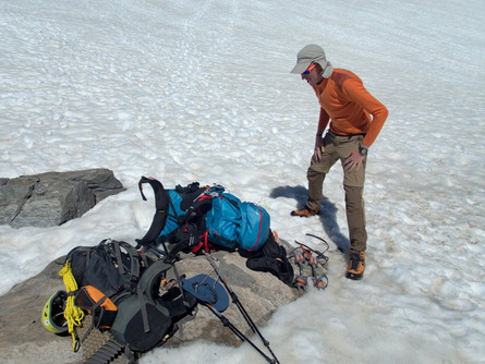 Vybavení na trek v horách II.