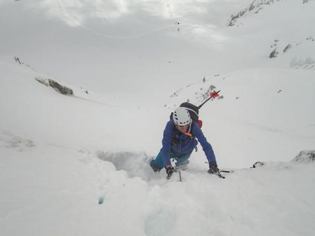 Weißseespitze Nordwand - májový výlet po krk ve sněhu