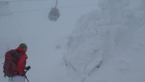 Großer Arber and Kleine Arbersee na skialpech