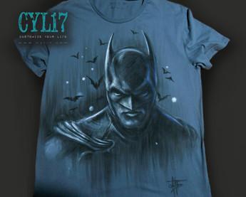 Batman_Handpainted_TShirt