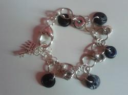braccialetto anellini e bottoni
