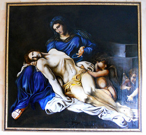 La_pietà_di_Annibale_Carracci_,_Progress
