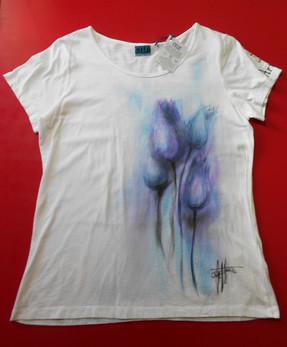 Tulipani viola azzurri