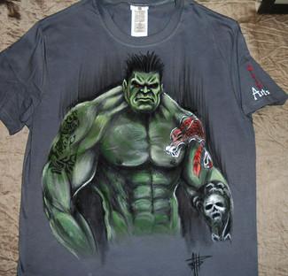 T Shirt Hulk
