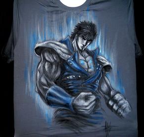 T Shirt Ken il guerriero