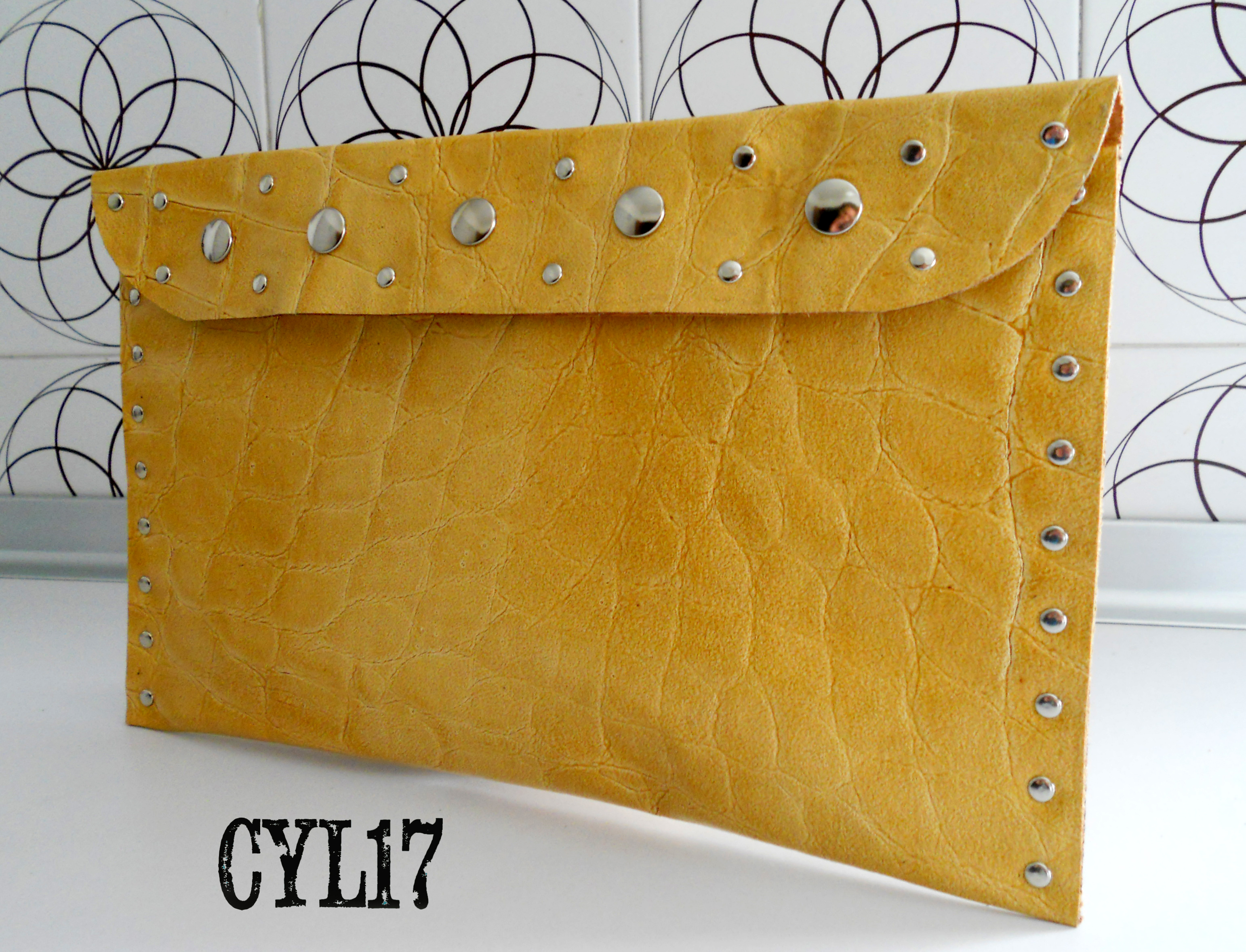bag pochette clutch leather bag personal