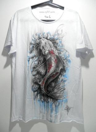 Carpa Koi_T Shirt dipinta a mano.jpg